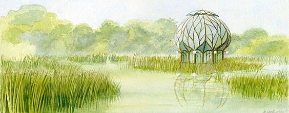 Francois Schuiten: Vegetal House: