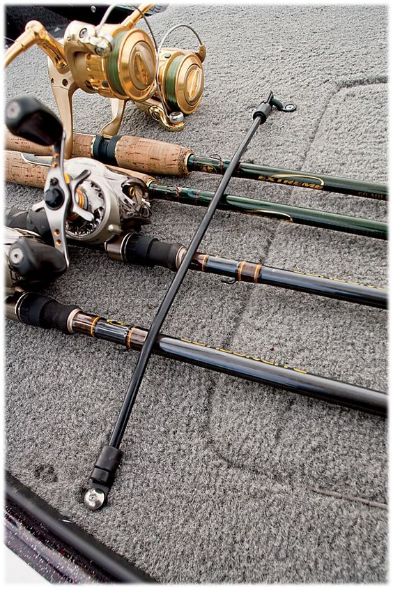 Rod holders bass pro shop and bass on pinterest for Bass pro fishing poles