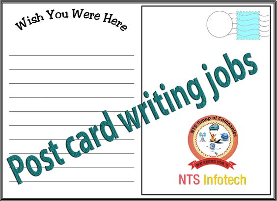 postcard writing jobs ntsinfotech per month you have to write postcard writing jobs ntsinfotech per month you have to write 7000 post cards