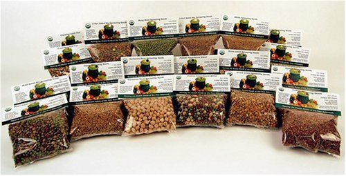 12 Lbs. Sprouting Seed Assortment - 1 Lb Ea. of Organic Sprout Seeds - Alfalfa, Radish, Clover, Lentil, Mung Bean, Garbonzo Beans, Green Pea, Bean Salad Mix, Protein Powerhouse Mix & More. Handy Pantry http://www.amazon.ca/dp/B000NY7QFK/ref=cm_sw_r_pi_dp_VixTtb0024AG7NT2