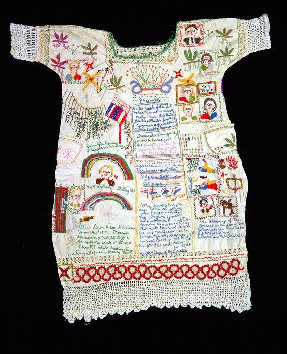 embroidered story