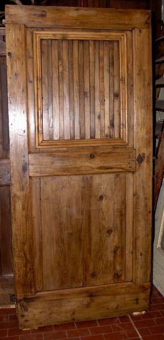 Porte da interno rustiche simone marro porte e portoni - Porte da interno ...