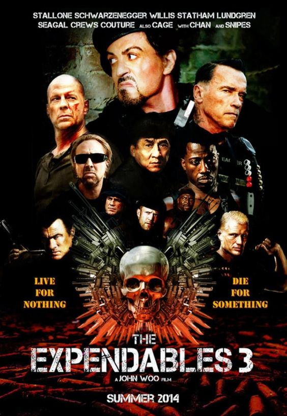 The Expendables 3 (2014) | The Expendables, Adventure Movies and ...