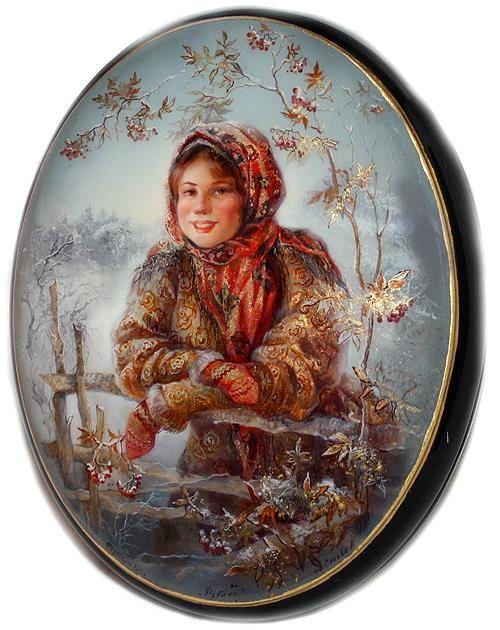 Title: Ashberry (or Rowan) Artist: Slaeva Liliana