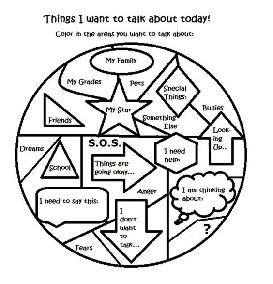 Free art therapy counseling group activity worksheet – Counseling Worksheets