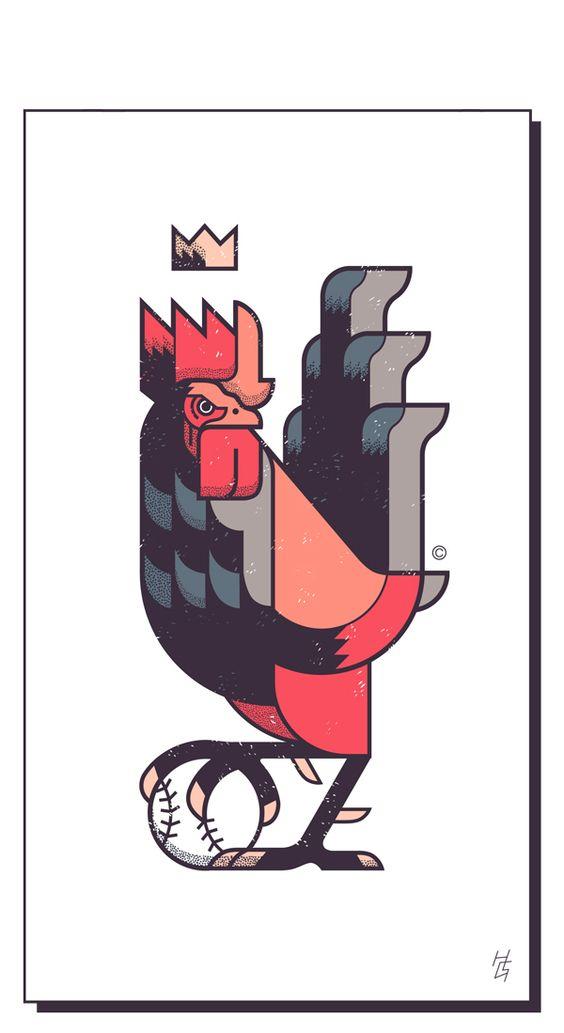 El rey del gallinero