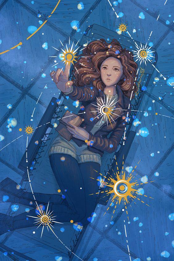 Fan art d'Addie LaRue par RosieThorns88
