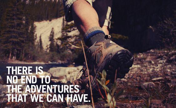Go adventuring