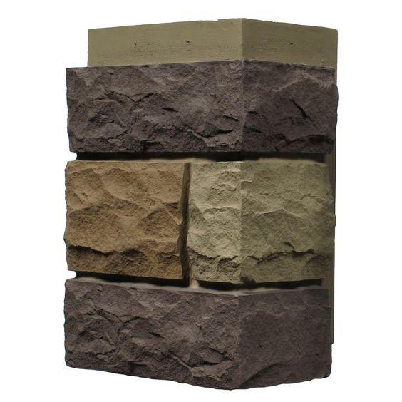 Nextstone Random Rock New England Mocha 11 In X 7 In Faux Stone