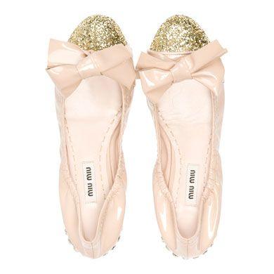 miu miu ballet flats