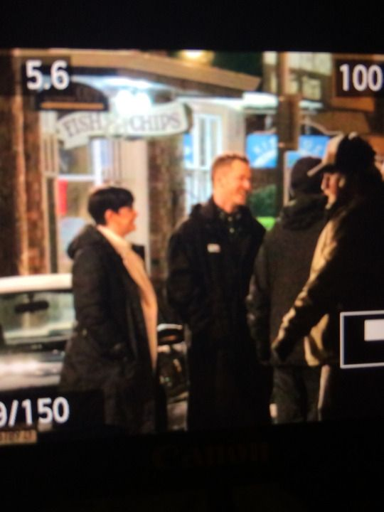 """Ginnifer and Josh - Behind the Scenes - 4 * 22 """"Operation Mongoose Part 2"""" - 1st April 2015"""