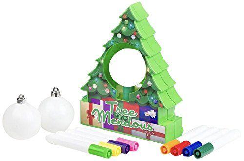 Treemendous Christmas Tree Ornament Decorating Kit For Ki Https Www Amazon Com Dp Diy Christmas Tree Ornaments Diy Christmas Tree Christmas Tree Ornaments
