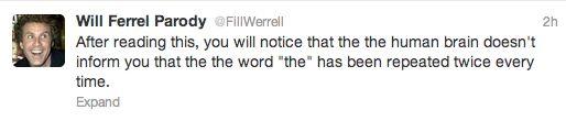 Will Farrel/Would Farrel/Should Farrel/Can Farrel