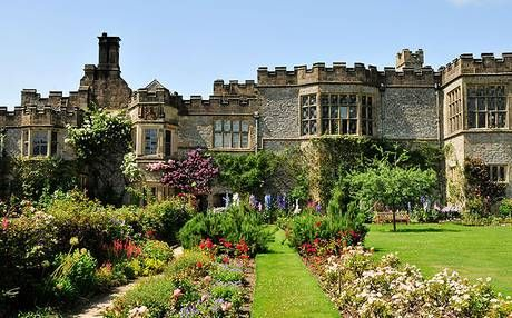 Thanks to its abandonment, Haddon Hall's haunting Tudor and Elizabethan charms remain intact: