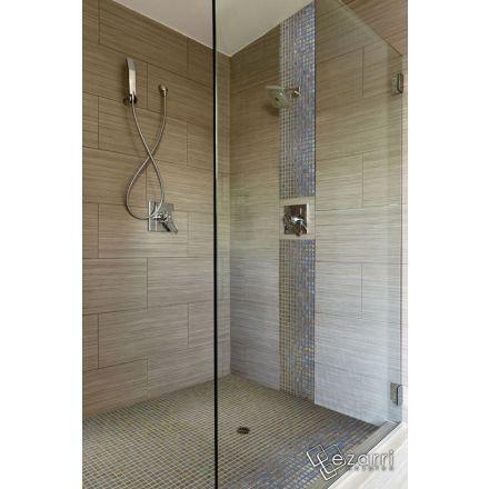 cool rnovation salle de bain chocolat et blanc mosaique emaux de verre beige nacr en promotion achat with salle de bain chocolat et beige - Mosaique Salle De Bain Beige