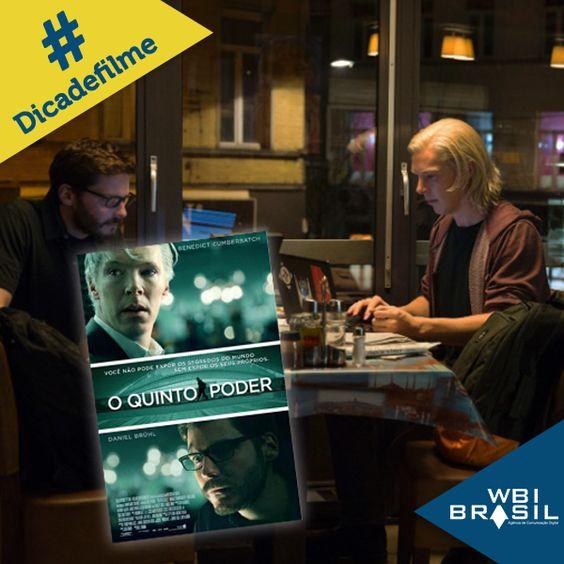 """""""O quinto poder""""conta a história de Julian Assange, fundador do polêmico website WikiLeaks, e seu amigo Daniel Domscheit-Berg, que também ajudou a criar o site. A medida que o WikiLeaks cresce, a amizade entre ambos fica bastante abalada."""