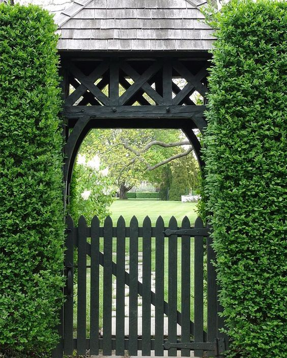 Blend your exterior design with your gate design