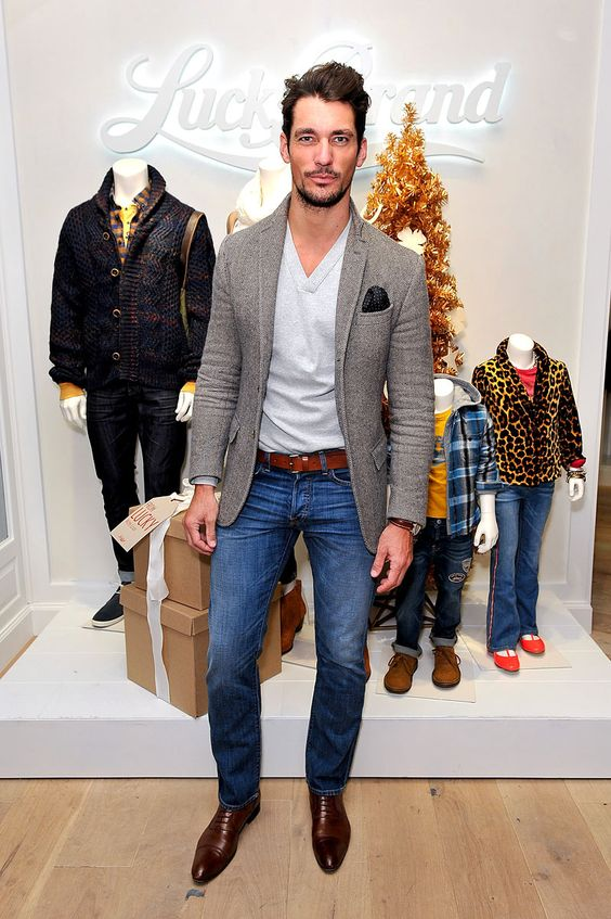 David Gandy, el gran top model masculino: