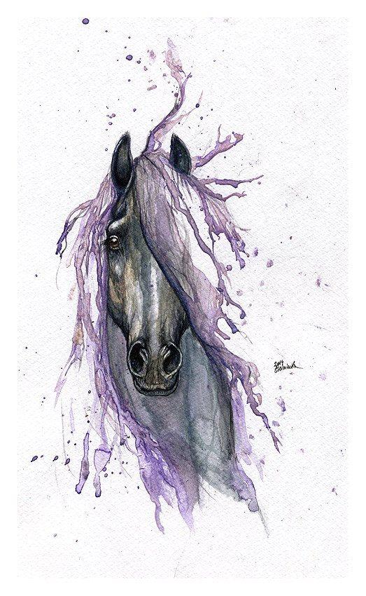 peinture chevaux wallpaper - photo #38