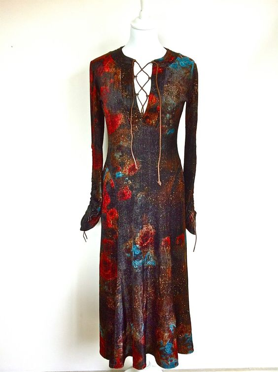 Class Roberto Cavalli Long Velvet Dress Size 38 via The Queen Bee. Click on the image to see more!