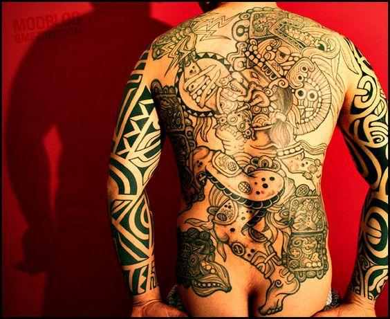 Tlaloc Tattoo