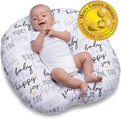 New Boppy Original Newborn Lounger Hello Baby Black Gold Online