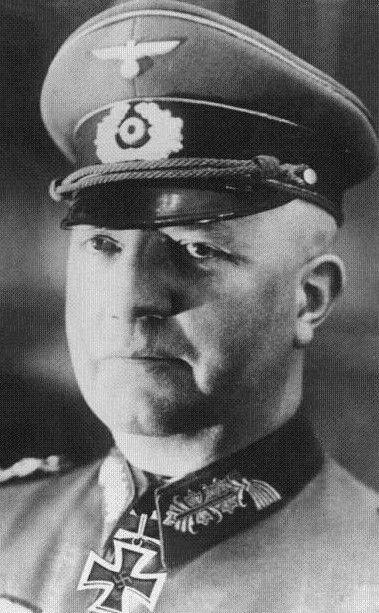 ✠ Friedrich Fromm (8 October 1888 – 12 March 1945) He was shot by a firing squad. RK 06.07.1940 General der Artillerie Chef der Heeresrüstung und Befh. des Ersatzheeres [Chef HRüst u. BdE]