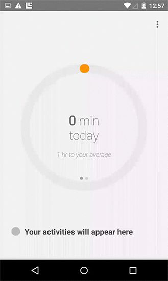 Google Fit animation