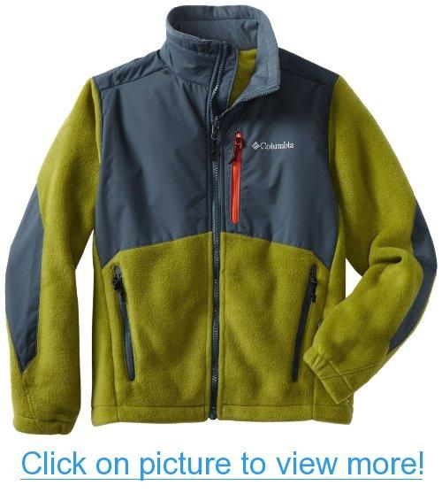 Columbia Boys 4-20 Steen Fleece Jacket #Columbia #Boys #4_20 ...