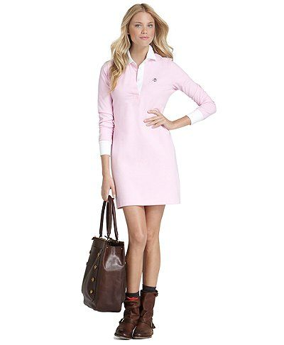 Cotton Rugby Dress | Brooks Brothers
