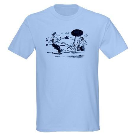 Samuel L Jackson Krazy Kat T Shirt (Pulp Fiction)