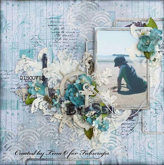 Fabscraps - Beach Bliss - Tina-Marie