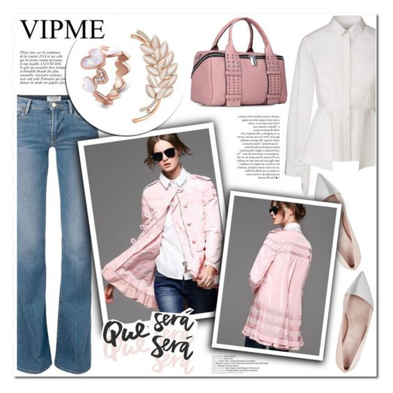 """VIPME Pink"" by helenevlacho ❤ liked on Polyvore featuring Anja, Giambattista Valli, women's clothing, women, female, woman, misses, juniors and vipme"