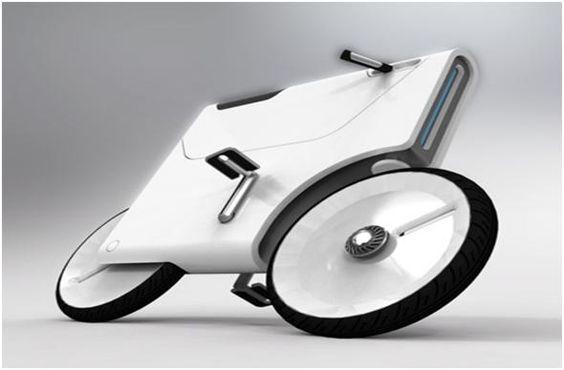 Laptop-Charging Bike.