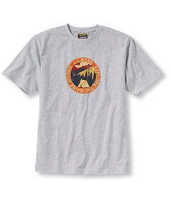 #LLBean: Carefree Unshrinkable Tee, Maine Woods