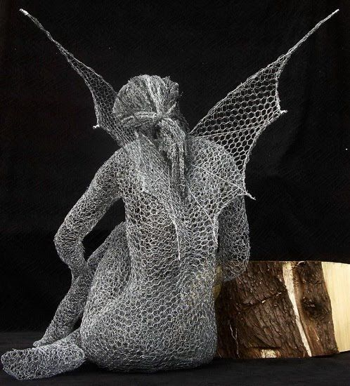 Darkrose Manor: Wire Sculpture