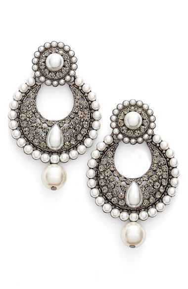 Tasha Faux Pearl Drop Earrings