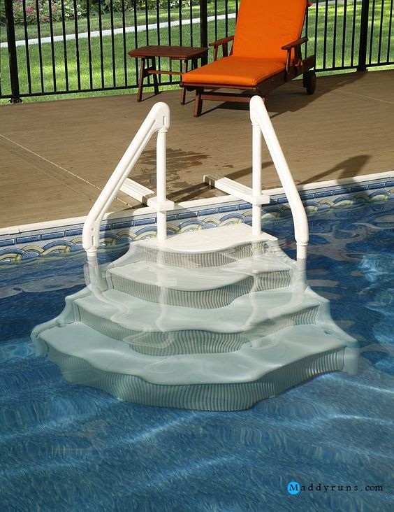 Pinterest the world s catalog of ideas for Above ground swimming pool ladder parts