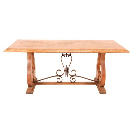 Vintage French Trestle Table