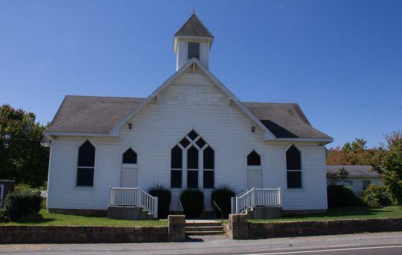 Meadow Bridge Methodist Church. photo by Rosa Redden