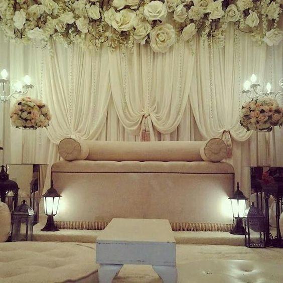 Wedding Nikah Simple Backdrop Decoration Muslim: Pinterest • The World's Catalog Of Ideas