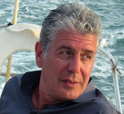 """Of all the sidewalks in all the world he showed up on mine...  Help me get the opportunity to interview Anthony Bourdain in my """"A Random Moment With"""" series.   Like and Repin with abandon. Merci!  http://abigailekuewrites.blogspot.com/2013/09/dear-mr-anthony-bourdain.html"""