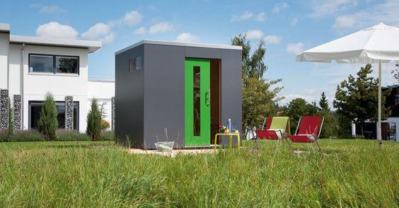 Schwörer-Gartenhaus aus Holz im Bausatz für individuelles Garten Design - Schwoerer Gartenhaus