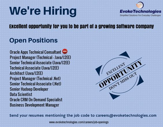 We are hiring software engineers for the below positions, come - j2ee project manager resume
