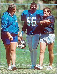 Bill Parcells, LT & Bill Belichick #nyg ---- #patriots