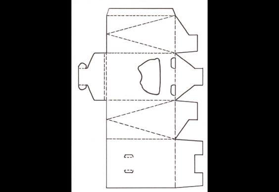 Bastelvorlagen für Taschen und Schachteln - Teil 2 image 13