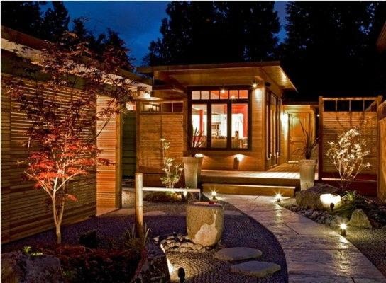 Japanese style exterior homes and house exteriors on Asian style homes