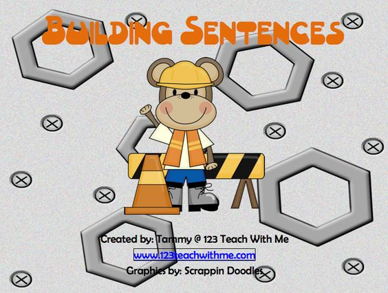 """FREE LANGUAGE ARTS LESSON - """"Writing Skills: Building a Sentence"""" at The Best of Teacher Entrepreneurs"""