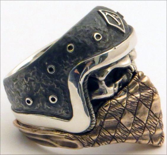 skull biker rings - Google Search