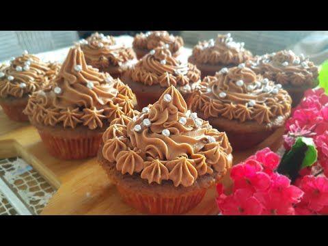 الذ كب كيك بالنوتيلا خفيف جدا اسفنجي هش بكريمة منزلية ب ٣ مكونات بدون حليب قمة بالروعة لاتفوتكم Youtube Food Desserts